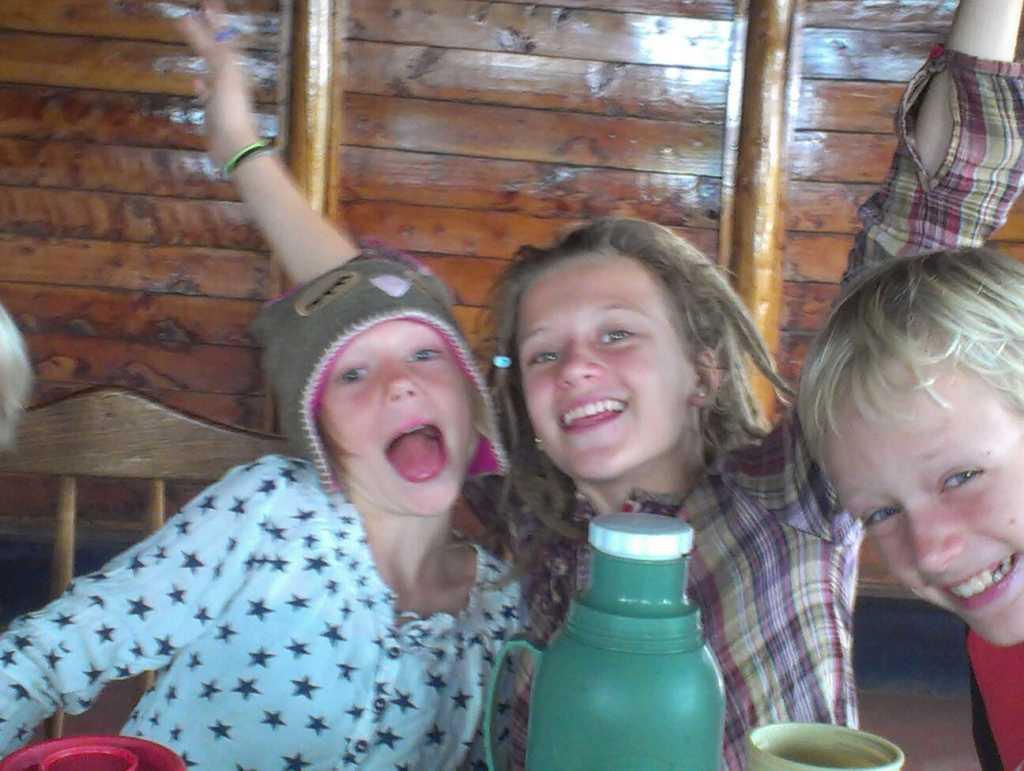 Ida, Willem en Doris genieten nog wat meer