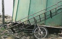 Een brancard op 1 wiel: haalbaar ziekenvervoer