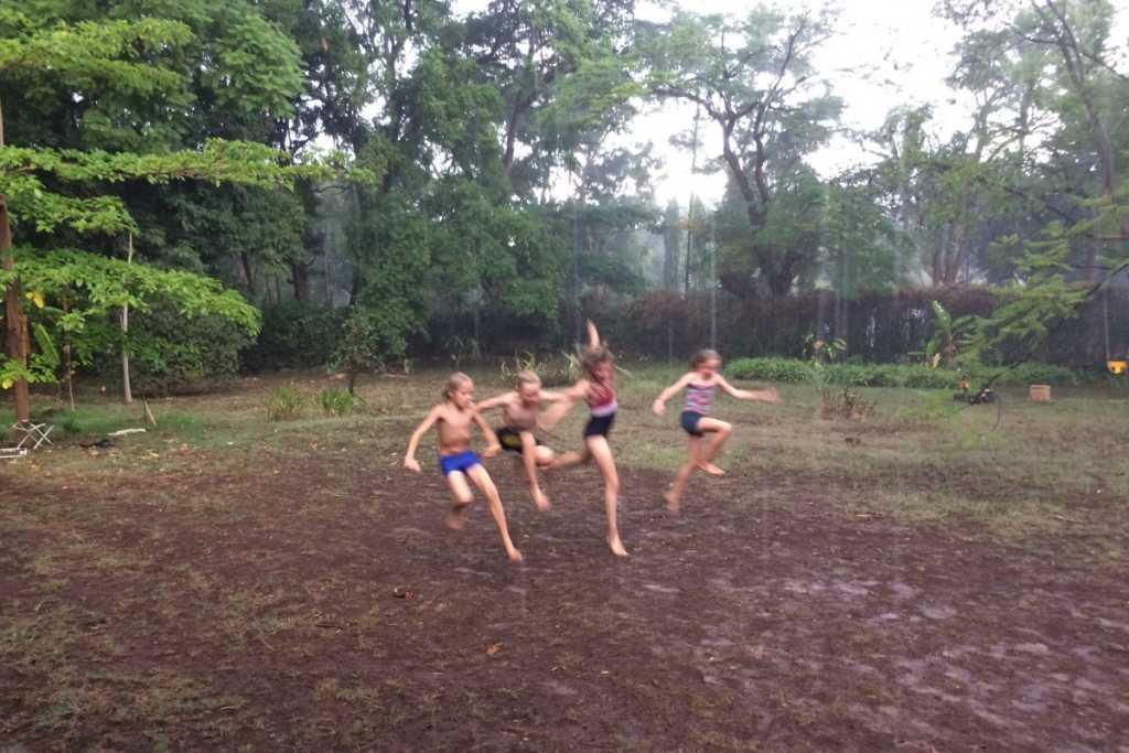Ida, Willem, Doris, Hugo als eindelijk de regens komen
